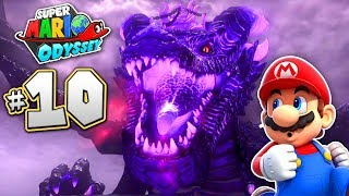 SUPER MARIO ODYSSEY Part 10 - GIANT DRAGON FIGHT - OMG!