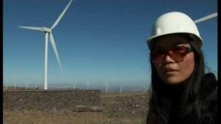 Wind Power Pacific Northwest Thai energy exchange tour