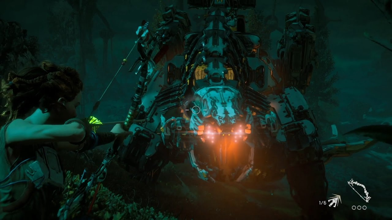 『Horizon Zero Dawn』「強大な機械獣」映像