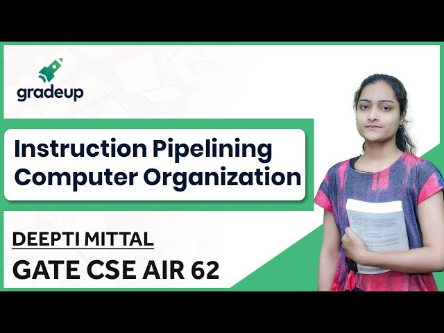 Instruction Pipelining in Computer Architecture GATE Questions | RISC Pipelining | COA GATE CSE 2019