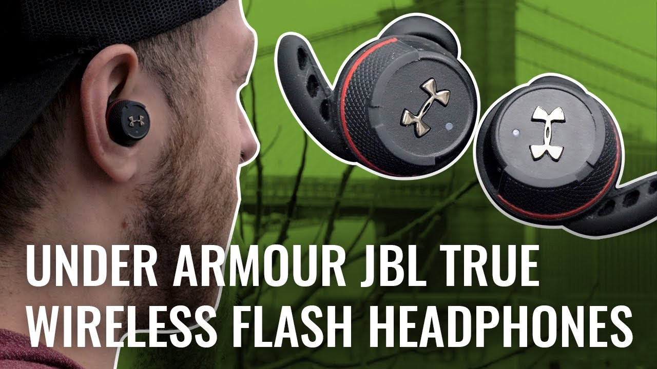 efde1ff6c4e JBL Under Armour True Wireless Flash Review - YouTube