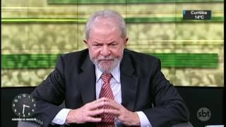 Ex-presidente Lula critica João Doria em entrevista ao SBT