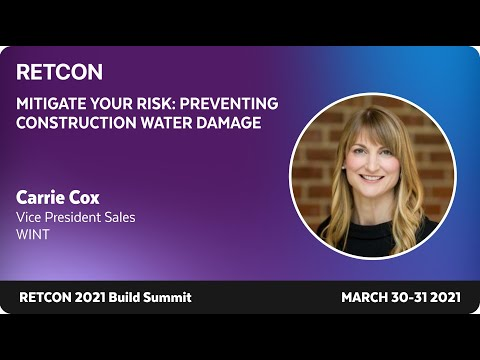 Mitigate Your Risk - Preventing Construction Water Damage