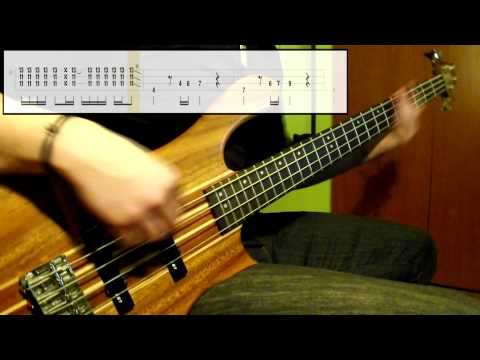 Red Hot Chili Peppers - Snow (Hey Oh) (Bass Cover) (Play Along Tabs In Video)