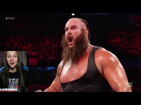 WWE Raw 11/6/17 Braun vs Miz