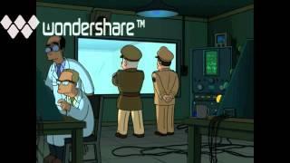 Futurama - Zoidberg in Roswell
