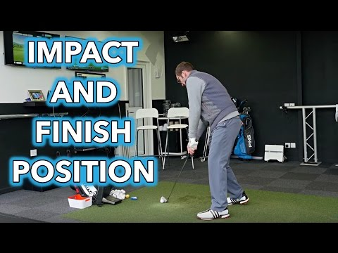 Golf Swing Fundamentals – Impact and Finish Position