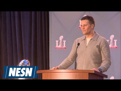 Tom Brady Accepts Super Bowl LI MVP Award
