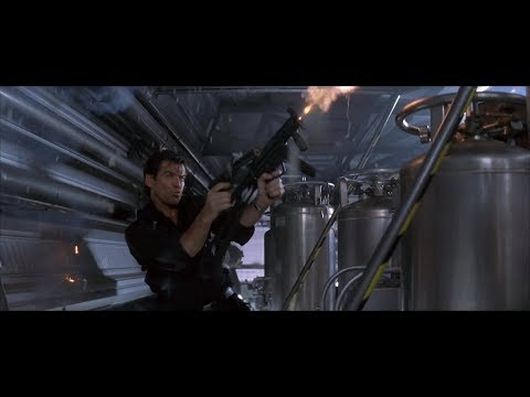 Tomorrow Never Dies - Stealthship Shootout Scene (1080p)
