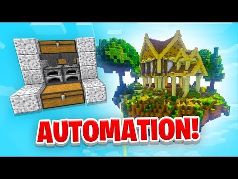 AUTOMATION! - Minecraft SKYBLOCK #5