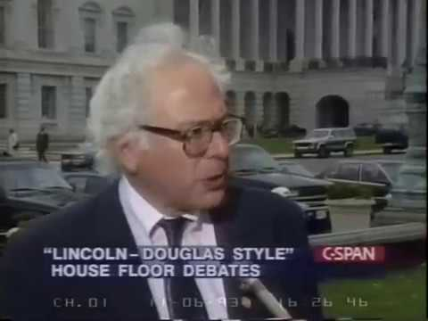 Bernie Sanders Single-Payer Lincoln-Douglas Style Debate Moderated by John Boehner (1993)