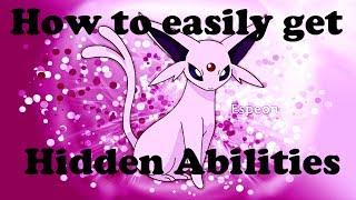 pokemon x y how to find hidden abilities easier