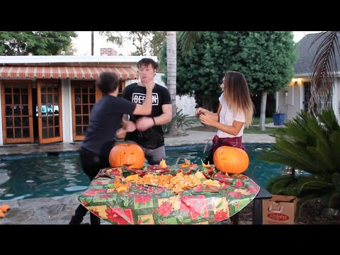 AGGRESSIVE PUMPKIN CARVING! | ScottySire