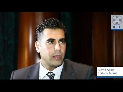 ICEF Monitor Interview: David Adler, Ustudy, Israel, Part 1 of 3