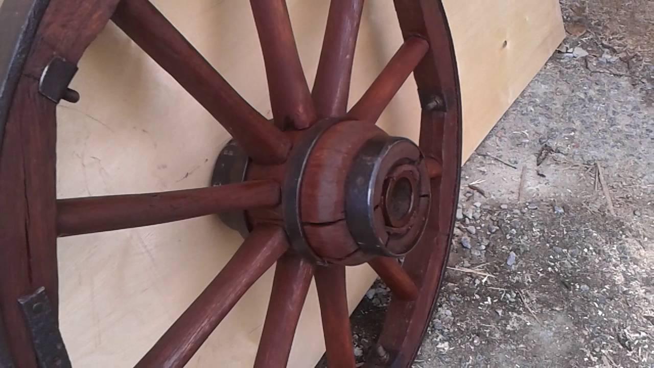 Деревянное колесо своими руками 20