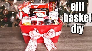 DIY Christmas gift basket | all Dollar Tree supplies | 12 days of Kristmas (6)