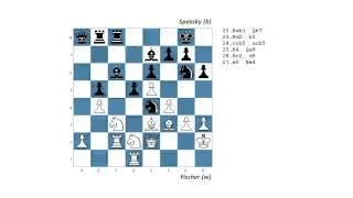 #47 1992 Fischer vs Spassky   Belgrade round 21
