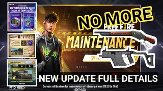 Free fire 4th February All new Update,Game is not opening - Garena Free Fire 2021