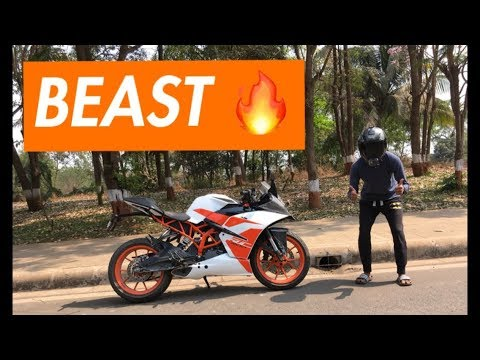 RIDING KTM RC 200 2017 FOR THE FIRST TIME | BEST 200cc BIKE?|