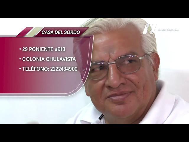 Casa del Sordo, en apoyo de personas con discapacidad auditiva en #Puebla desde hace 27 años