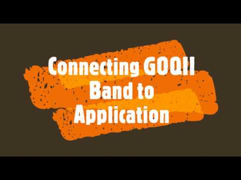 How To Connect GOQII Band To Mobile Application