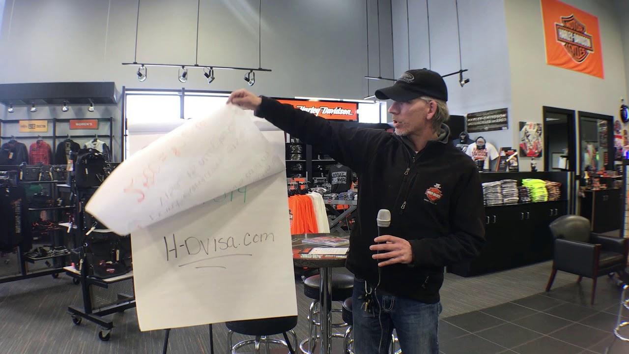 Harley Davidson Visa Info Youtube