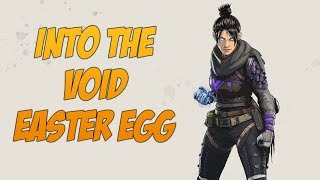 Apex Legends Wraith One in a Million Easter Egg! Into the Void Time and Space Travel!