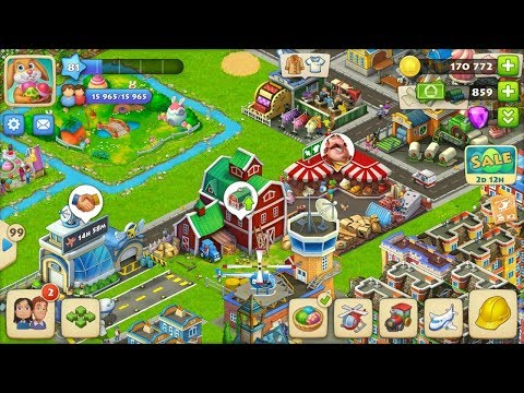 TOWNSHIP GAMEPLAY LEVEL 81 BARN UPGRADE