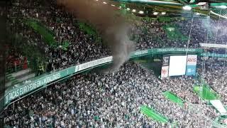 INCÊNDIO ESTÁDIO ALVALADE! Zona Sporting (Sporting x Benfica) (pote de fumo dizem)