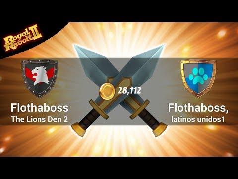 ROYAL REVOLT 2 - FLOTHABOSS Vs FLOTHABOSS CLONES (level Up!)