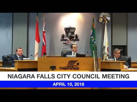 April 10, 2018 Council Meeting
