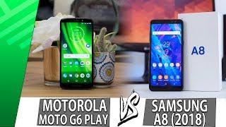 Moto G6 Play VS Samsung A8 (2018) | Enfrentamiento | Top Pulso