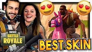THE BEST SKIN OF SEASON 6! (FIER DESTRIER) FORTNITE DUO EN