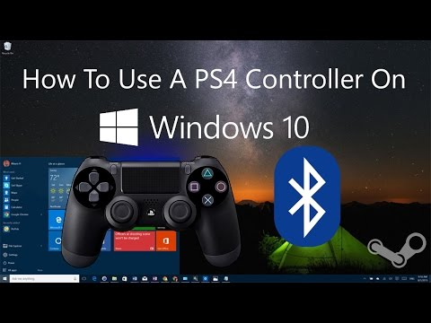 how to connect ps4 controller to pc windows 10 doovi. Black Bedroom Furniture Sets. Home Design Ideas