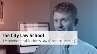 The City Law School: LLM International Business Law (Distance Learning)