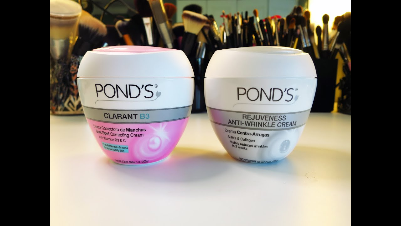 how to use ponds cream