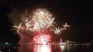 Singapore SG51 NDP 2016 Firework Rehearsal