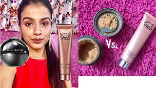 Lakme Absolute Mousse Foundation Vs. 9 to 5 Weightless Mousse Foundation   Review & Comparison