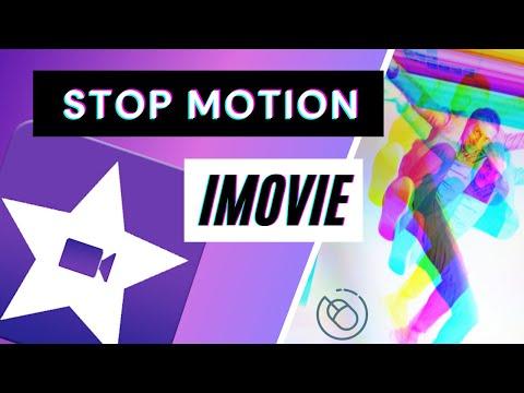 Imovie stop motion animation.