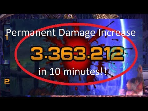 TERA How To Get A Permanent Damage Increase!