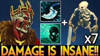 New Cancer 7.07 Damage is Insane Wraith King by ILLIDAN.STR Dota 2