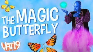 The Flying Butterfly Surprise