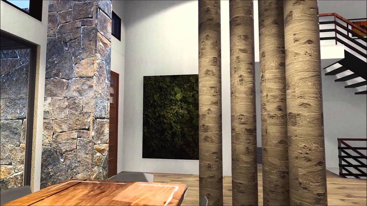 Project studio 3d walkthrough contemporary residential design