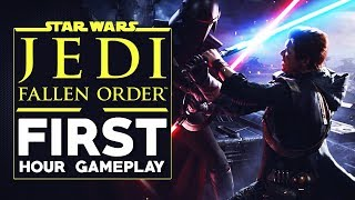 Star Wars Jedi: Fallen Order - First Hour Gameplay PC ULTRA 60 FPS 1440P