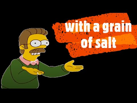 Idioms in famous TV series: with a grain of salt