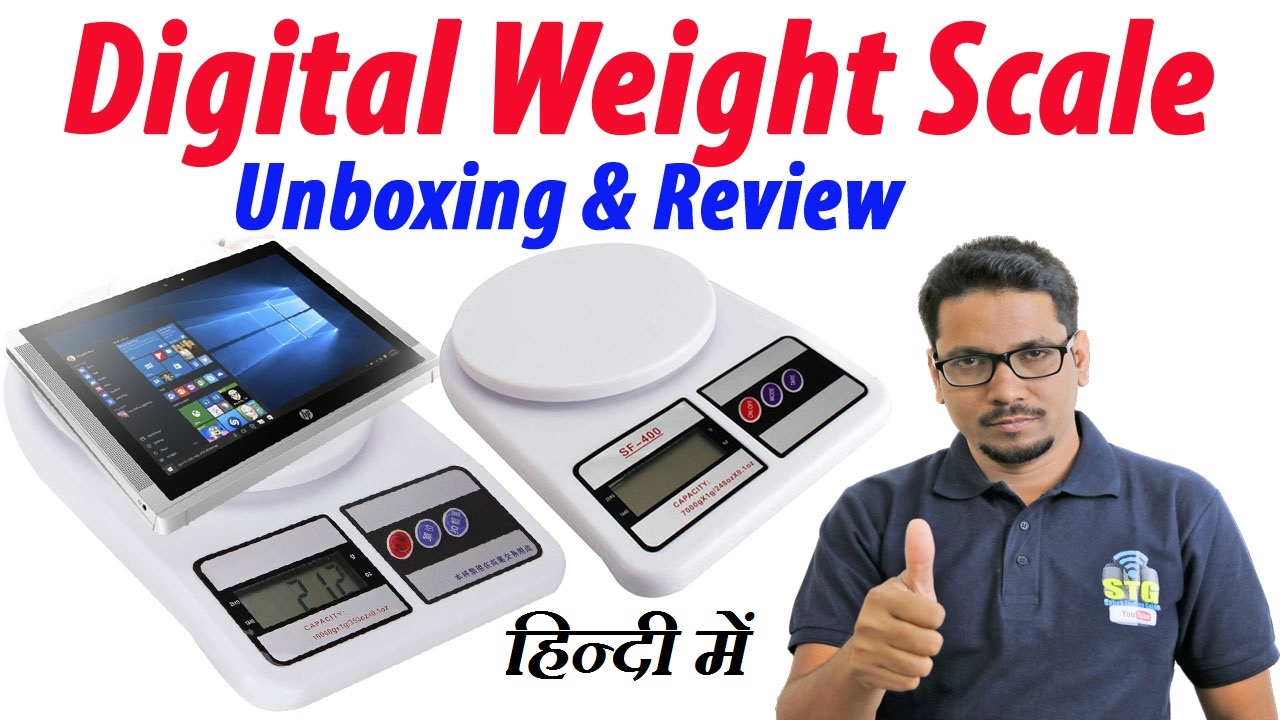 Hindi || Digital weight scale unboxing & review