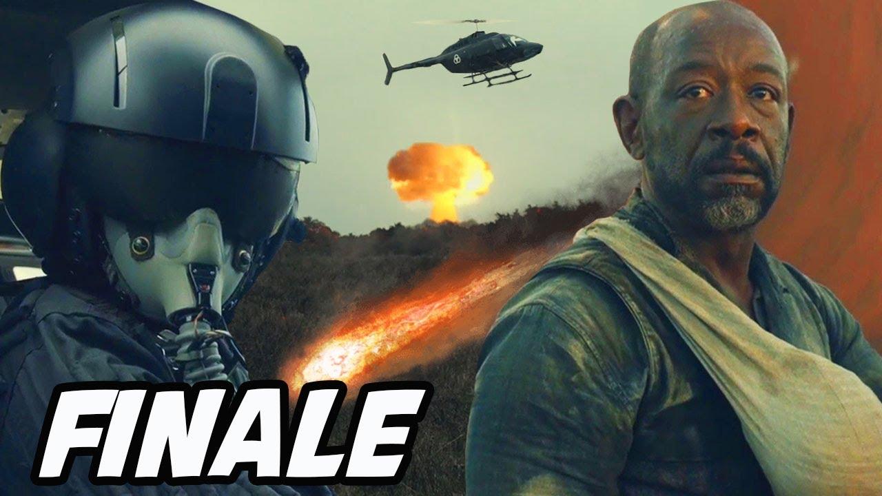 Download 'Morgan's Fate, CRM Helicopter Crash & NEW Villain Season 7!' Fear The Walking Dead Season 6 Finale