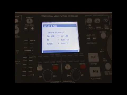 Denon DN-HD2500 how to update the firmware