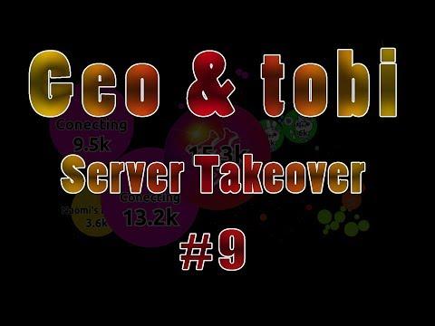 Agar.io Geo & tobi Server Takeover 9 - nutty presplit thumbnail