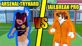 Can an ARSENAL TRYHARD ARREST ME in Roblox Jailbreak???